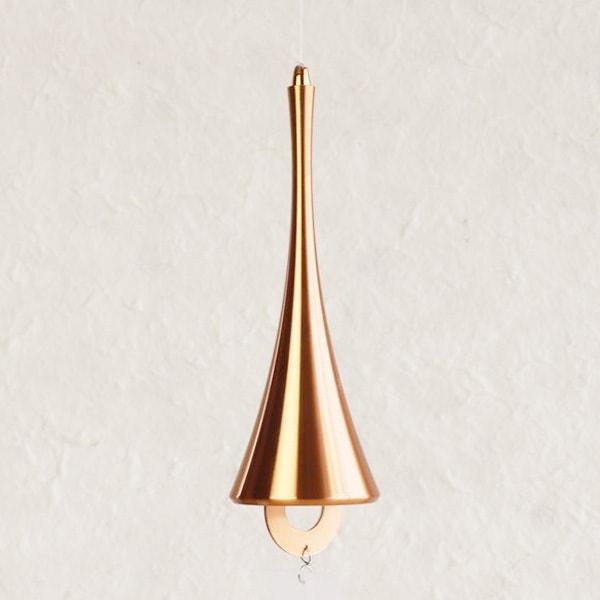 Japanese Wind Chime / Horn / Pink gold /Nousaku