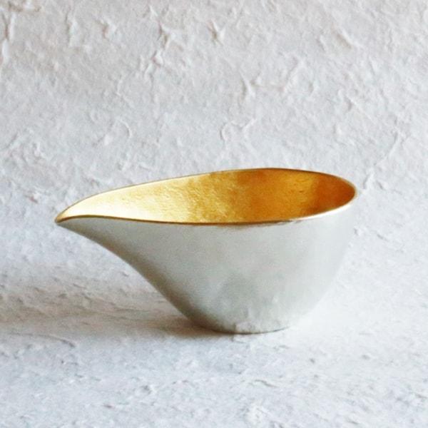 Katakuchi / S / Gold / Sake Pitcher / Nousaku