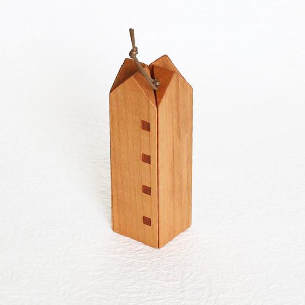 Nabeshiki house / Wooden kitchen hot pad / Black cherry / Sunao Lab