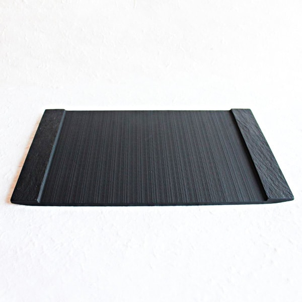 SUZURI / Slate cheese board / Rectangle Plate / L / Studio GALA
