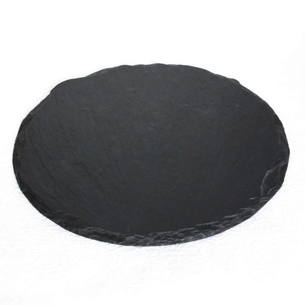 SUZURI (slate cheese board) / Round Plate / L / Studio GALA