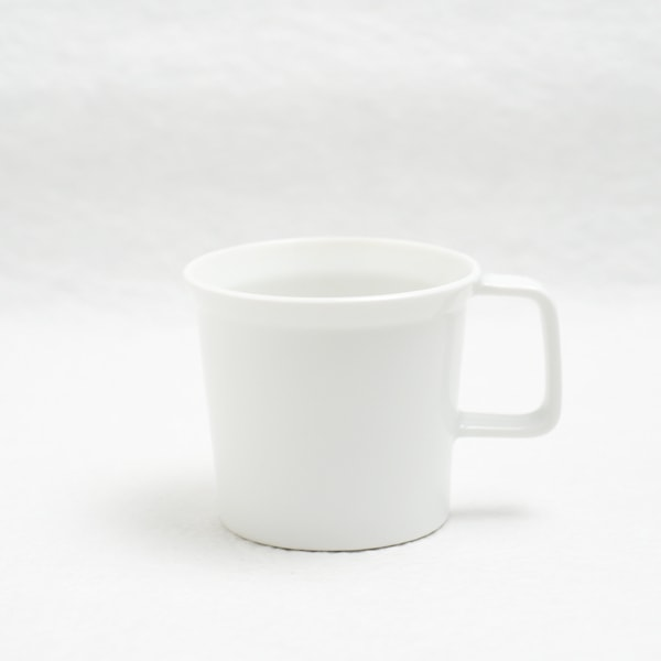Coffee Cup with Handle/ White/ TY Series/ 1616 arita japan