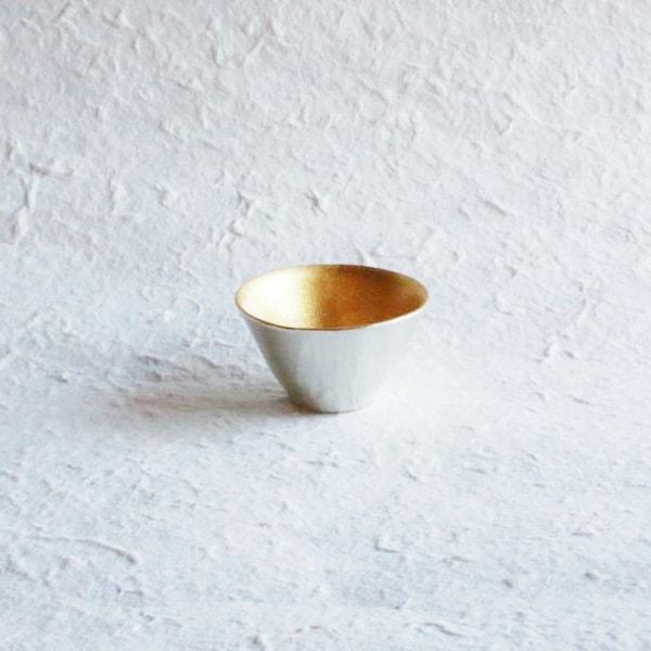 KIKI-II / Sake Cup / Gold / Nousaku
