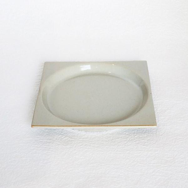 お皿/モデラート プレート グレー S/ceramic japan