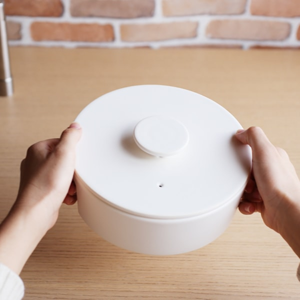 Earthenware Pot/ S/ White/ do-nabe Series