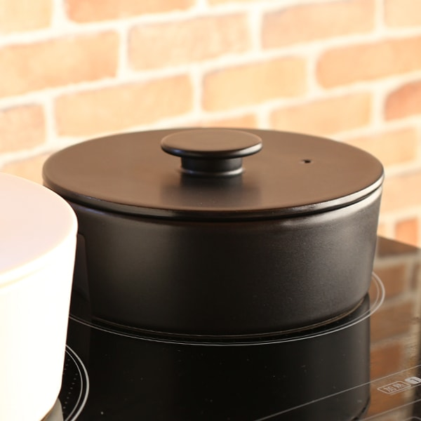 do-nabe / Donabe Pot / Induction friendly / Black / S / ceramic japan