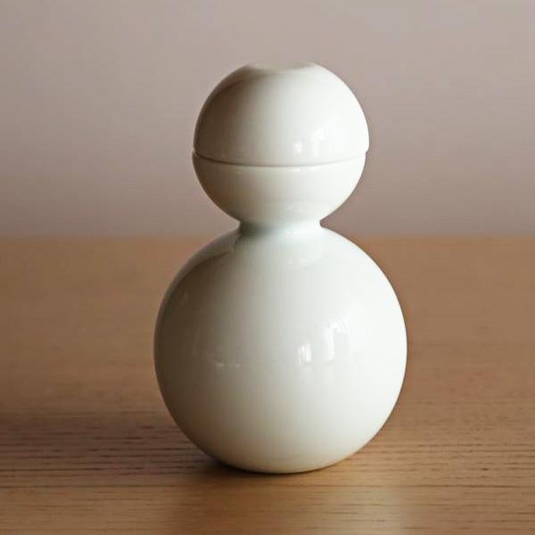 酒器/酒器だるま 釉薬(艶あり)/ceramic japan