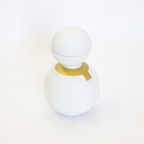 Syukidaruma(Sake Cup Snowman) / Gold Line