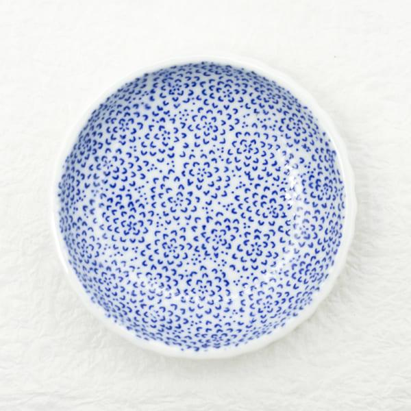 お皿/豆皿 印判 ひまわり/東屋