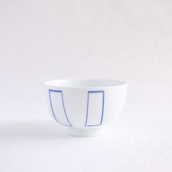 Flower rice bowl/ Madobe/ Large/ Azmaya