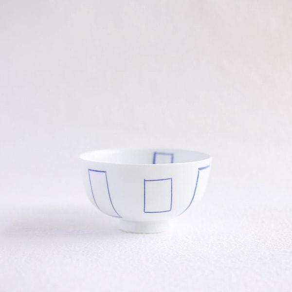 Flower rice bowl/ Madobe/ Small/ Azmaya