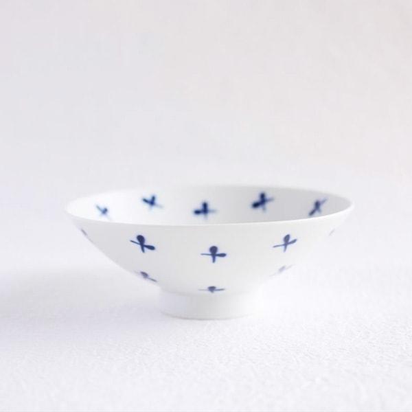 Flat rice bowl / White Mat ST-16 / Hakusan Toki