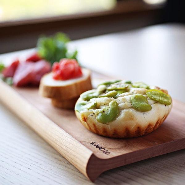 【Sold out】senro 両面使えるカフェトレー 大 チェリー/スナオラボ(定価¥3800)
