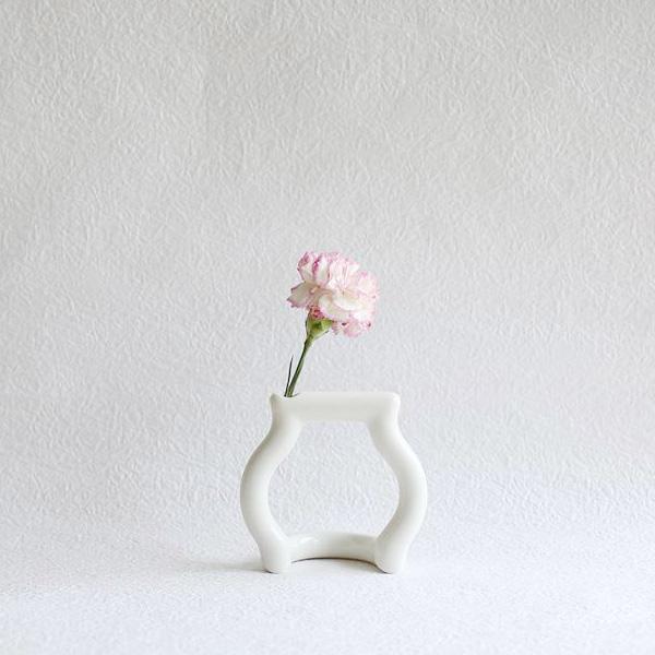 花瓶/still green(S)Jam/ceramic japan