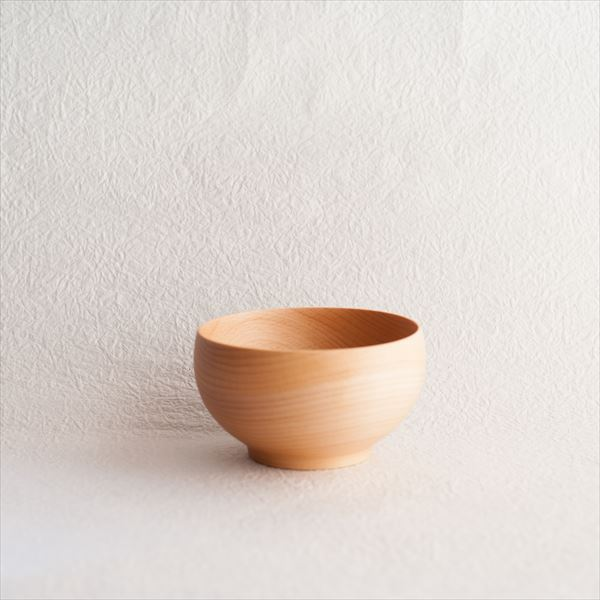 Meibokuwan / Wooden soup bowl / Medium / Sonobe