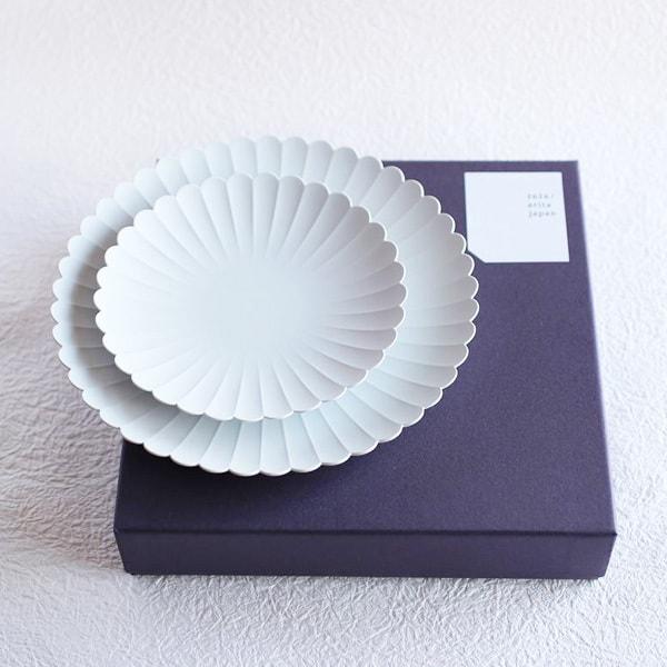 【セット】1616/arita japan TYパレスプレート大1枚小1枚セット化粧箱入