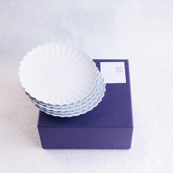 【セット】1616/arita japan TYパレスプレート小5枚化粧箱入