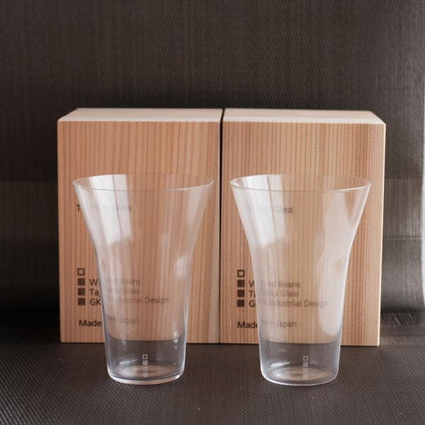 [Set]ETERNAL GLASS / Tumbler / Transparent / Exclusive box / WIRED BEANS