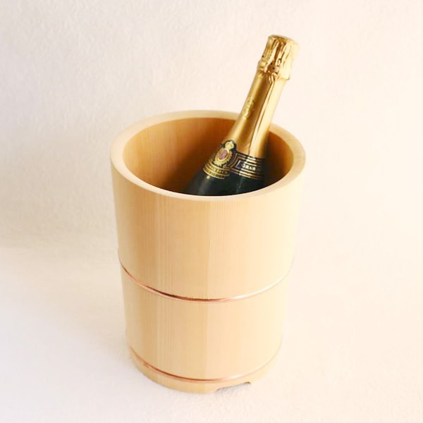 Wooden Wine cooler / Azmaya