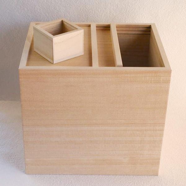 Wooden rice container / 10kg / Azmaya