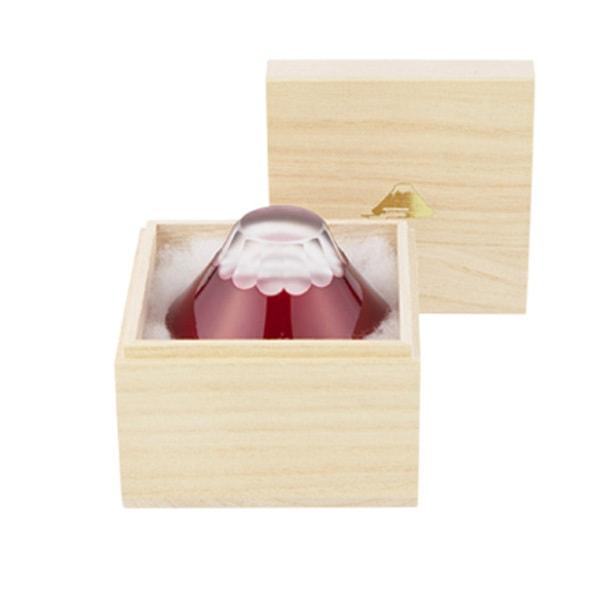 Fuji Edo Kiriko / Sake glass / Beni (Red) / Floyd
