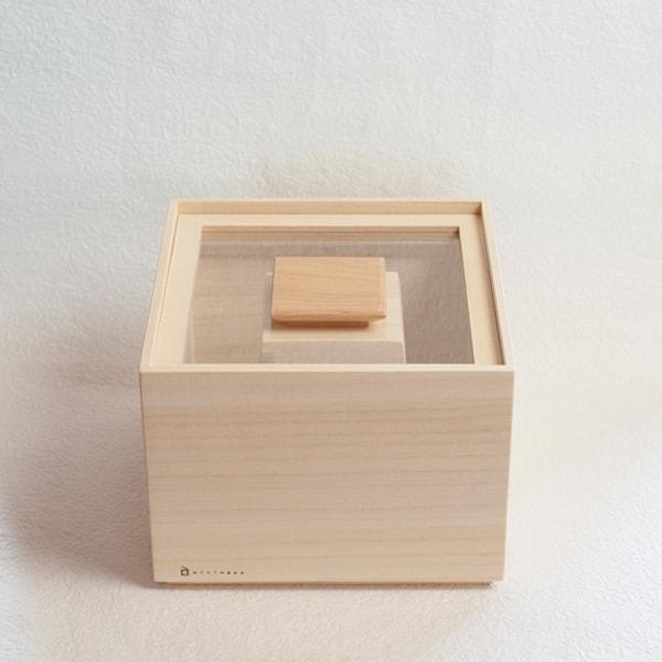 Rice storage box / 3kg / Masuda Kiribako