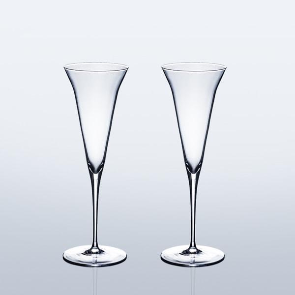 【セット】生涯を添い遂げるグラス SAKEグラス KAORIペア(木箱入)/WIRED BEANS