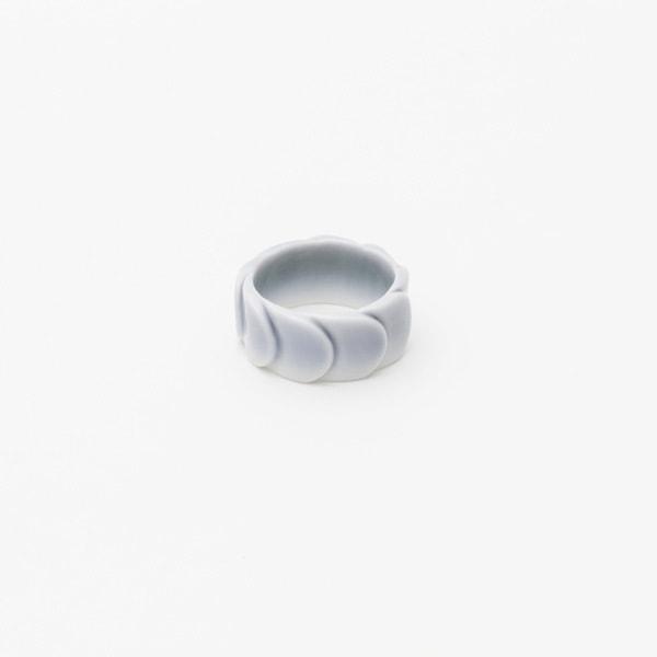 Ring DRAKE RING NO.2(大) Special Underglaze /2016 Saskia Diez