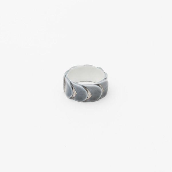 Ring DRAKE RING NO.2(大) Grey Silver/2016 Saskia Diez