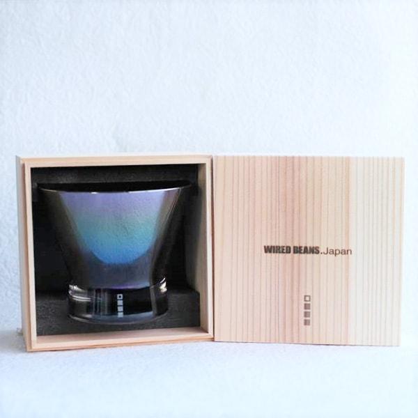 生涯を添い遂げるグラス ロックf チタンコート(木箱入)/WIRED BEANS