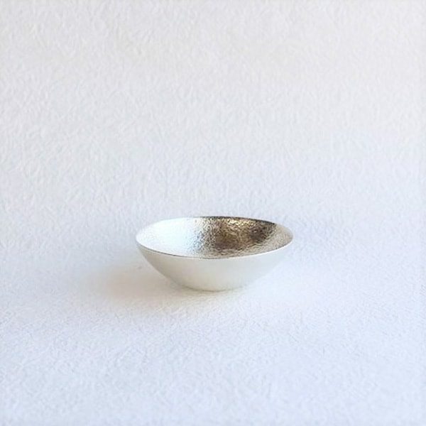 Kuzushi-Tare / Sake cup / Silver / Nousaku
