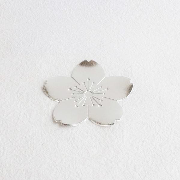 小皿/錫のフラワートレー 桜/能作