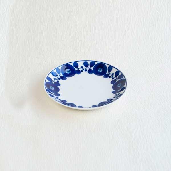ブルーム リース プレートS/白山陶器
