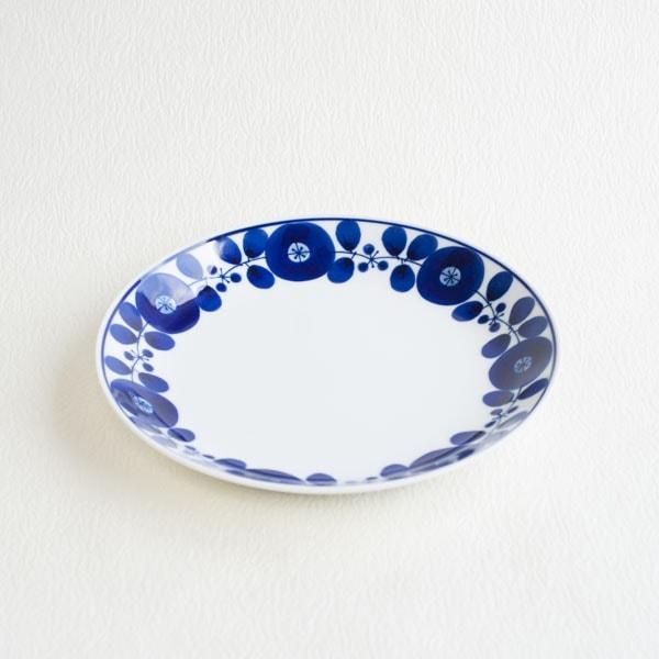 ブルーム リース プレートL/白山陶器