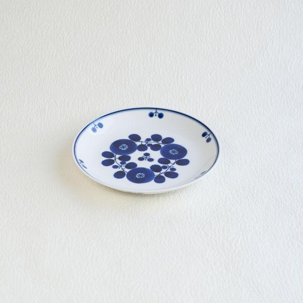 ブルーム ブーケ プレートS/白山陶器