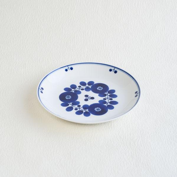 ブルーム ブーケ プレートM/白山陶器