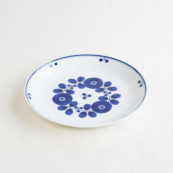 ブルーム ブーケ プレートL/白山陶器