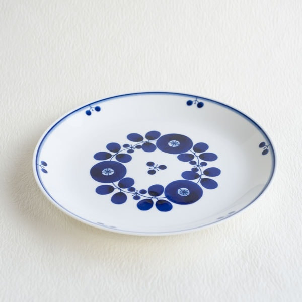 Plate LL / Bloom series / Bouquet / Hakusan Toki
