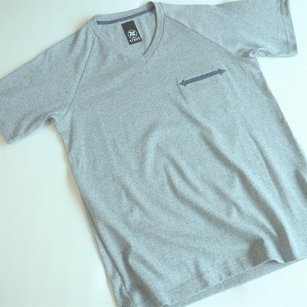 【クリエイターズ】伝統工芸 meets Tシャツ(Basic・グレー)