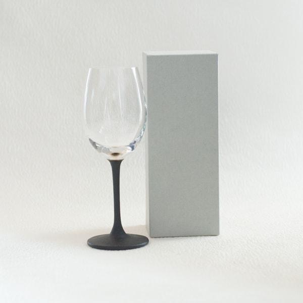 うるしの WINE GLASS 銀/鳥羽漆芸