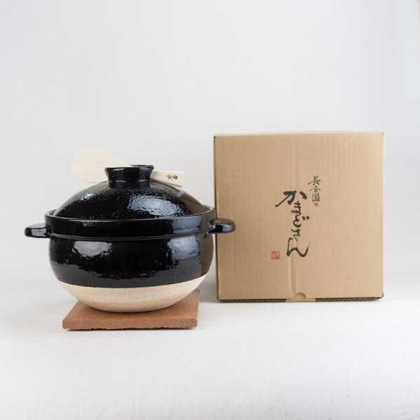 かまどさん土鍋 五合炊き 伊賀焼/長谷園