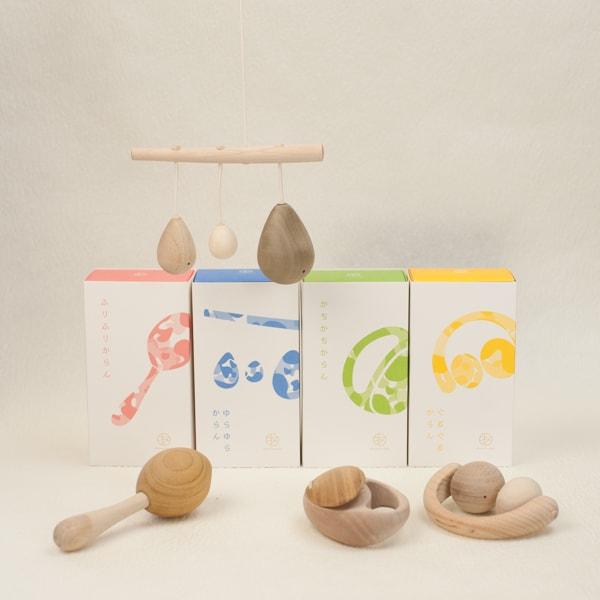 【セット】木のおもちゃ/「あのまとぺ」シリーズ4点セット/~五感を育むファーストトイ~/オークヴィレッジ