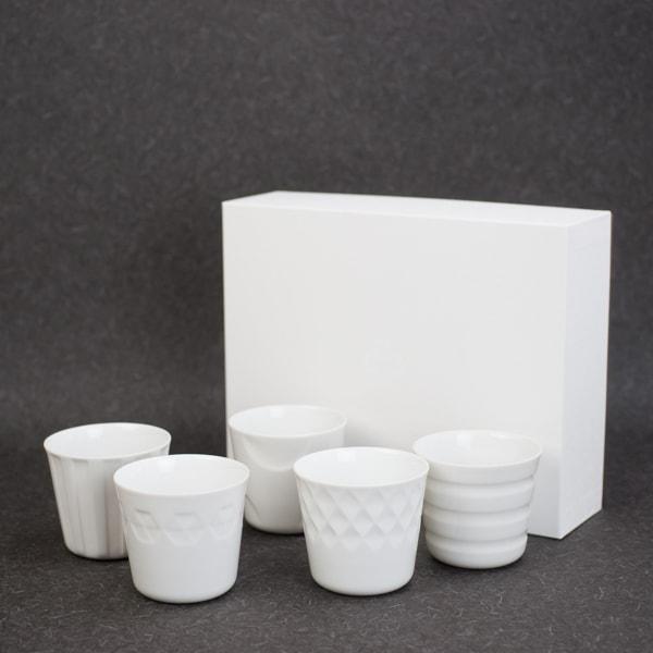 【セット】カップ・コップ/HONOKA 5点セット (化粧箱入)/小田陶器