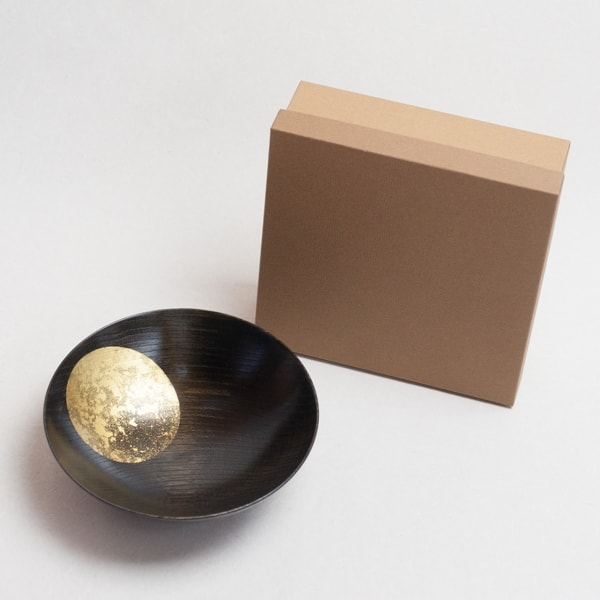 Oborozuki bowl / Night moon (Black) / 8 sun / Hakuichi