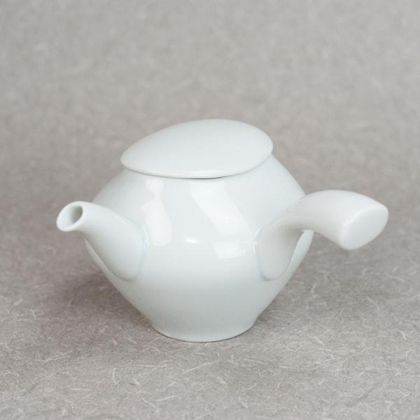 蒼爽 青白磁 急須 /ceramic japan