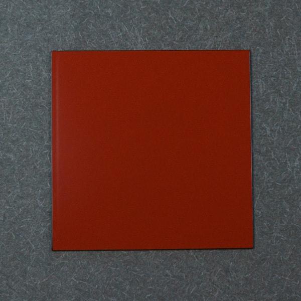 1尺1寸 角敷膳・折敷 深紅/日本デザインストア