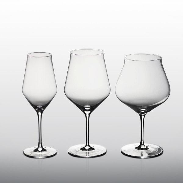 【セット】生涯を添い遂げるグラス ワイングラス 飲み比べ3点セット(木箱入り)/WIRED BEANS