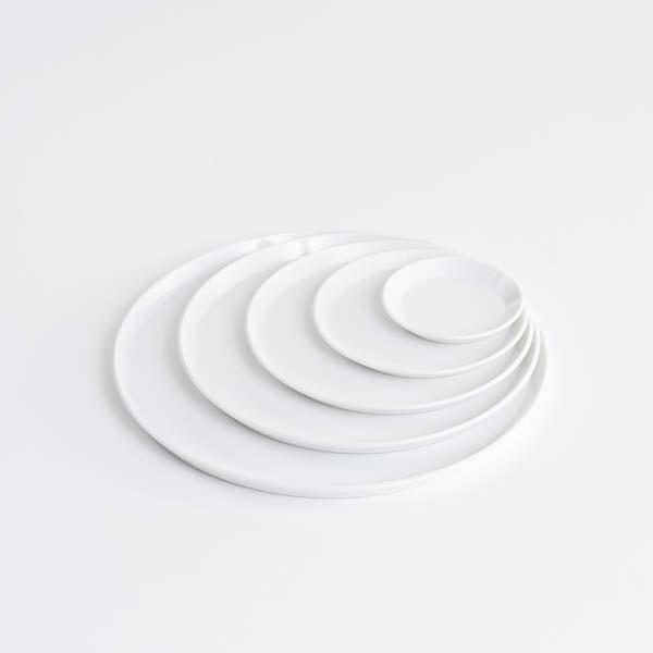 【セット】TYシリーズ Round Plate ホワイト 5枚セット 化粧箱入り/お皿/1616 arita japan