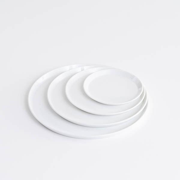 【セット】TYシリーズ Round Plate ホワイト 4枚セット 化粧箱入り/お皿/1616 arita japan
