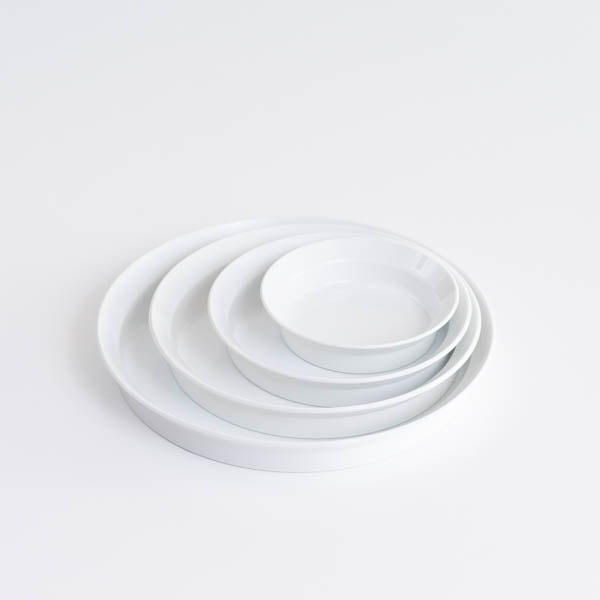 【セット】TYシリーズ Round Deep Plate ホワイト 4枚セット 化粧箱入り/お皿/1616 arita japan
